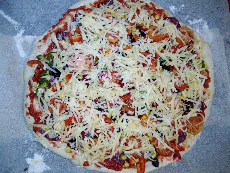 скільки випікати домашню піцу