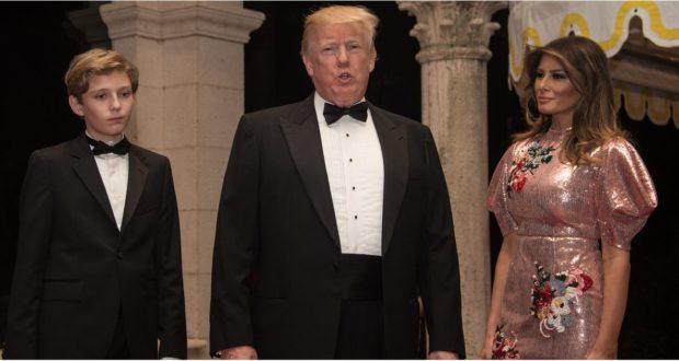 Меланья Трамп блистала в модном платье во Флориде