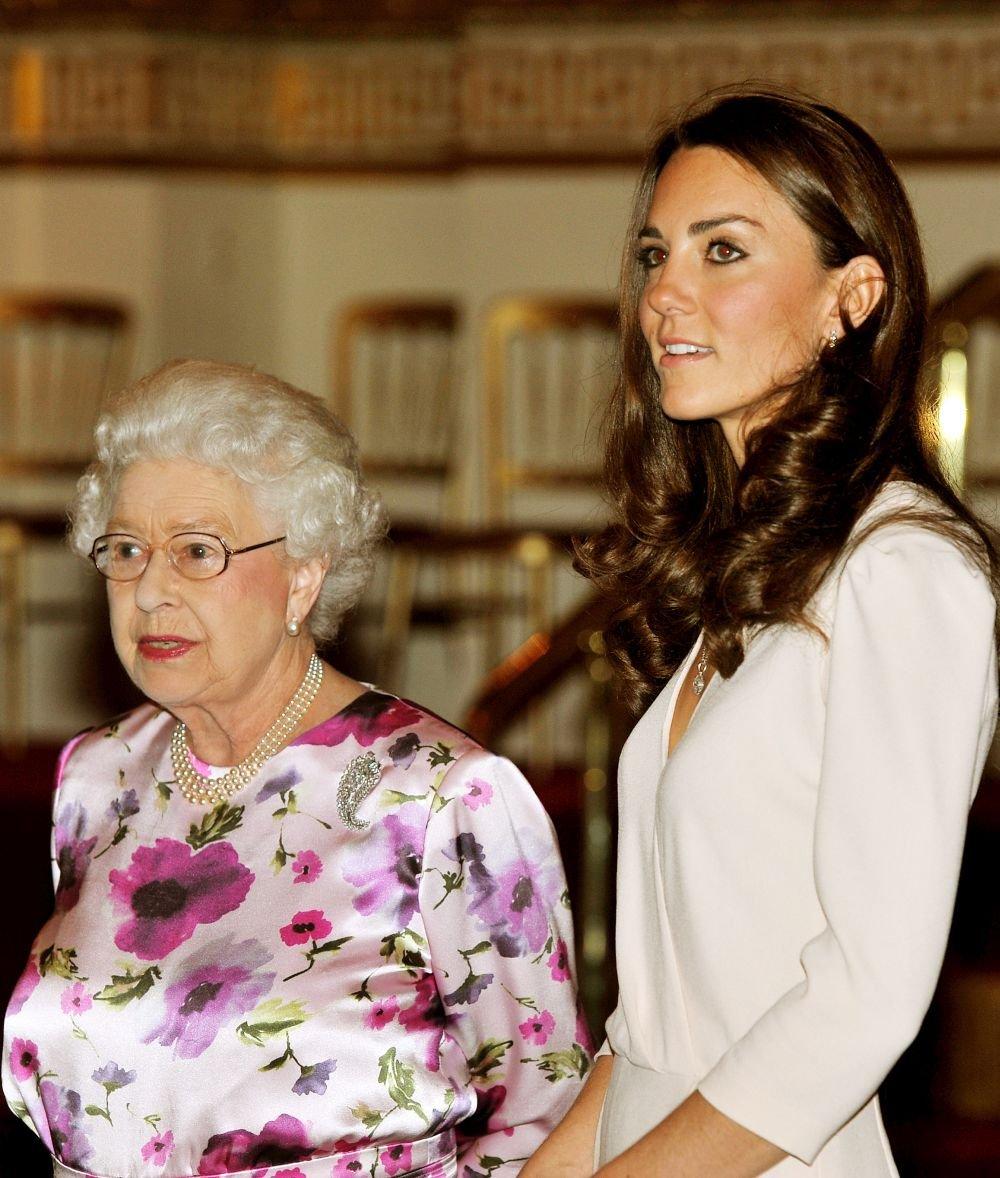 Кейт и королева Елизавета
