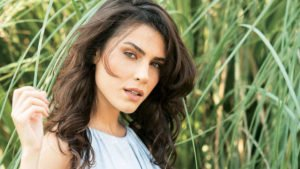 турецкая актриса Серенай Акташ