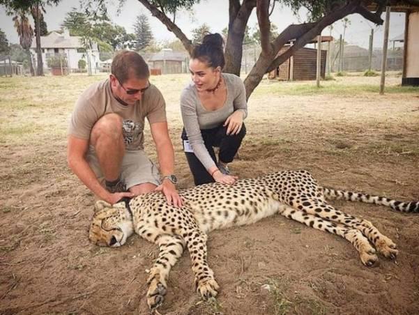 Фахрие и Бурак посетили зоопарк