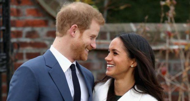 Британский принц Гарри и его избранница Меган Маркл