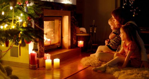 Магия живого огня в доме
