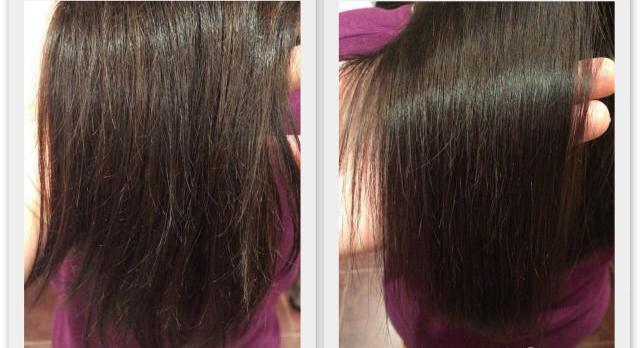 Горячая стрижка волос