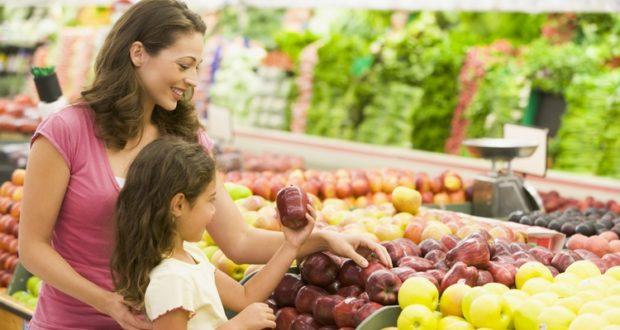 как выбрать полезные фрукты и овощи