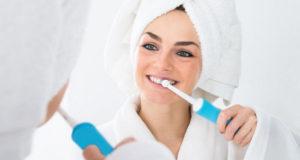 Зубная электрощетка и другие полезности