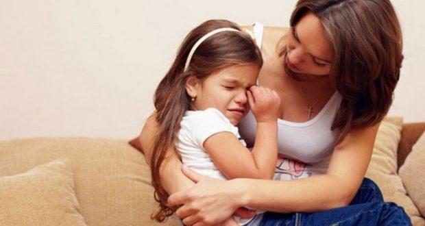 успокоить плачущего ребенка
