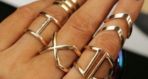 Стильные кольца